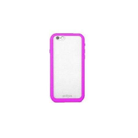 Image of Wetsuit Impact Waterproof Rugged Case for iPhone 6S Plus/6 Plus, Pink and White