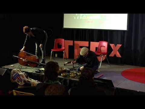 Sound Therapy for Anxiety and Stress: Jonathan Adams and Montana Skies at TEDxTelfairStreet - YouTube