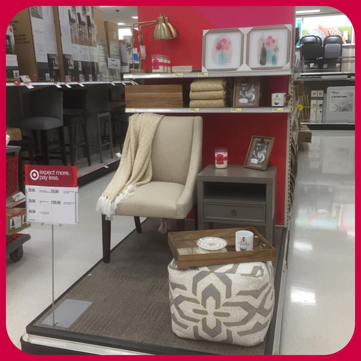 End Cap And Gondola Merchandising For Furniture.