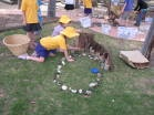 outdoor playscape provocations: Outdoor Playscap, Natural Outdoor, Reggio Emilia, Plays Spaces, Outdoor Learning, Playscap Provoc, Reggio Inspiration, Enrichment Plays, Natural Plays