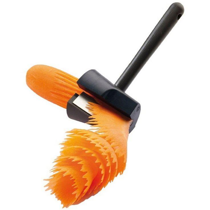 kitchen Carrot Curler Vegetable Spiral Cutter Grater Peeler Slicer Tool