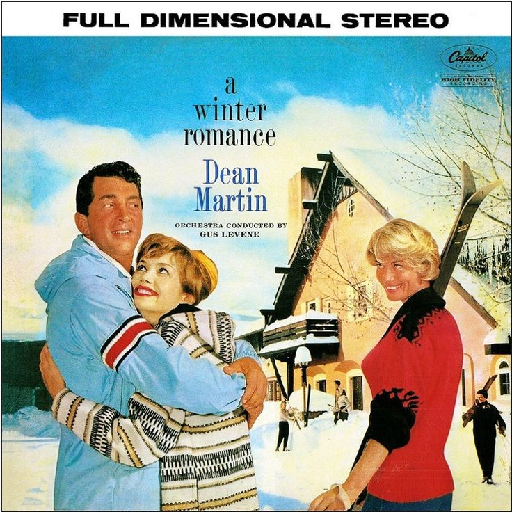 Dean Martin A Winter Romance on LP Spring usually gets all the credit for being the time of romance, though Summer comes in close behind for its share of the honors. But Dean Martin presents ample evi