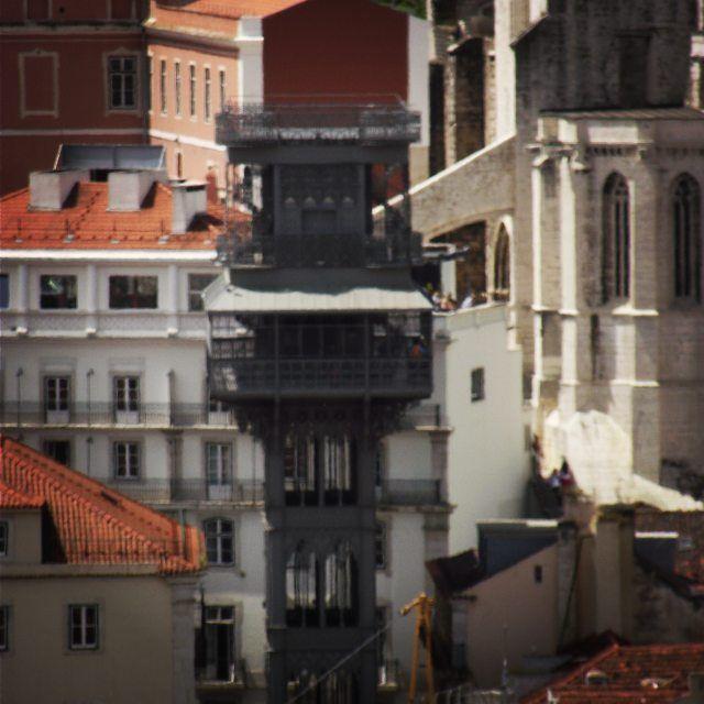 Elevador de Santa Justa-Lisboa,Portugal Photo by:ED D'Oliveira