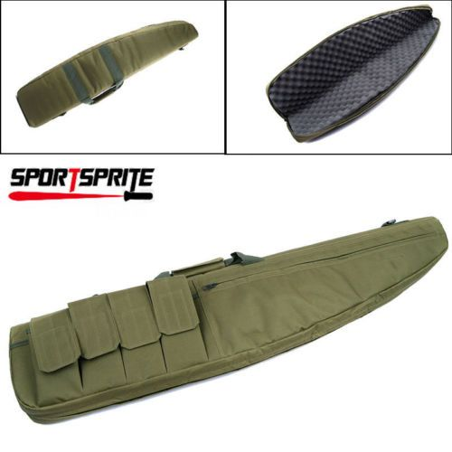 """38"""" SWAT Police Hunting Tactical Rifle Gun Carrying Bag Case Pouch Storage OD"""