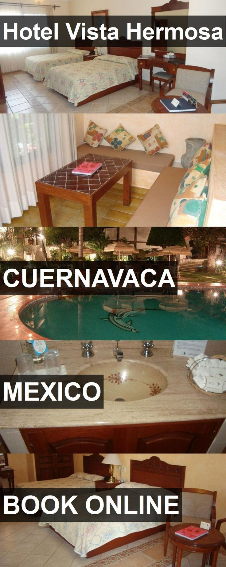 Hotel Vista Hermosa in Cuernavaca, Mexico. For more information, photos, reviews and best prices please follow the link. #Mexico #Cuernavaca #travel #vacation #hotel