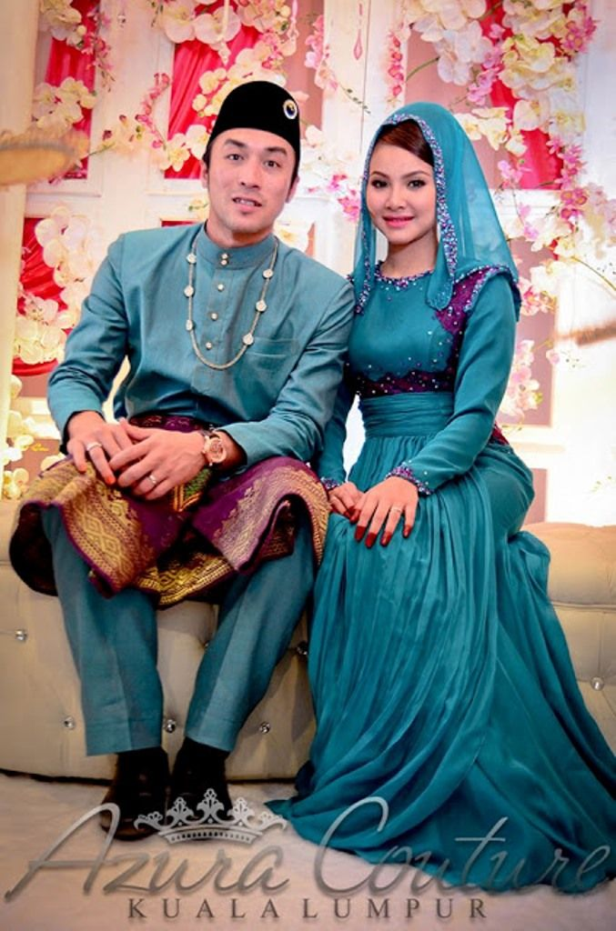Malay wedding - If can modified for Muslimah Bride, it will be so gorgeous!