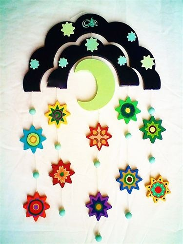 a nice moon and star mobile for the little one's room...from Eastern Toybox