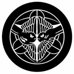 kamon 上杉氏の「竹に飛び雀」
