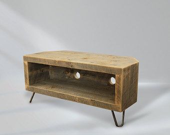 Reclaimed Wood Media Console Television Stand