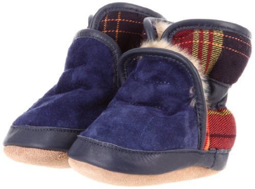 Robeez Kid's Cozy Ankle Bootie (Infant/Toddler) Robeez. $23.93. Approved by the American Podiatric Medical Association. Easy on stay on elasticized ankle design. Washable for easy care. Flexible non-slip suede soles. Leather sole. suede
