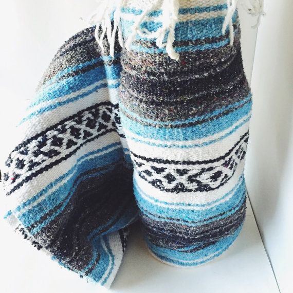 You vintage mexican blanket