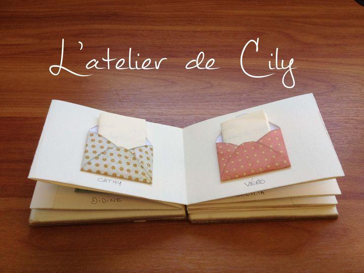 Carte accordéon multi-messages pour anniversaire, départ en retraite : Cartes par l-atelier-de-cily