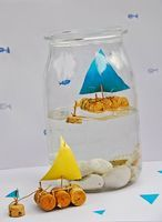 Boat In A Bottle Kids Craft - Things to Make and Do, Crafts and Activities for Kids - The Crafty Crow