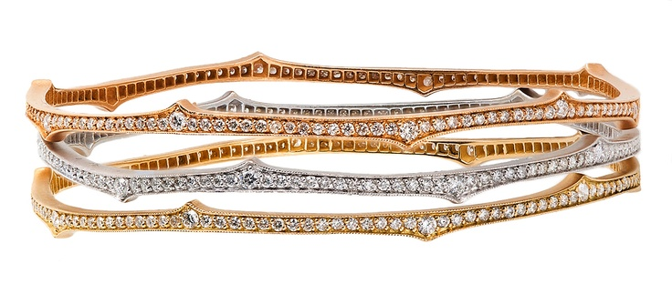 The beautiful thorn bangles from Parulina.