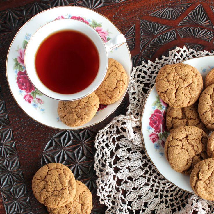The Kiwi Cook | Gluten-free Gingernut Biscuits | http://thekiwicook.com