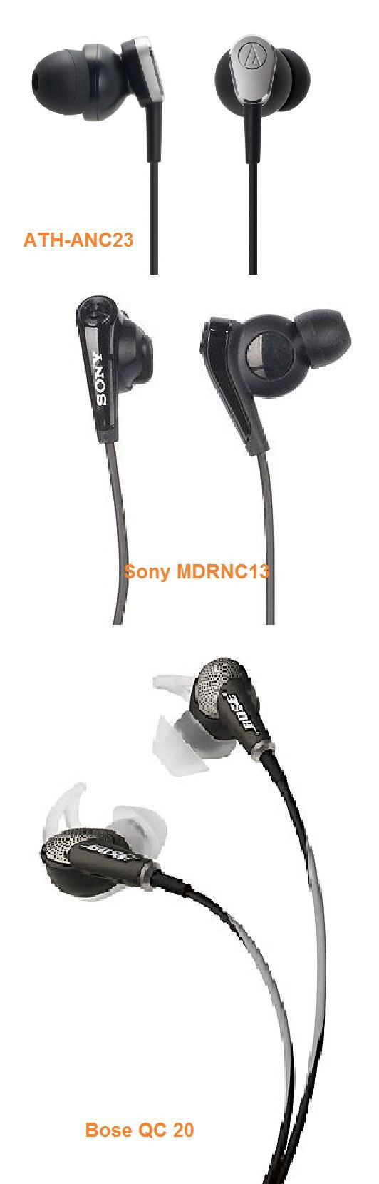 3 Best noise cancelling earbuds 2014