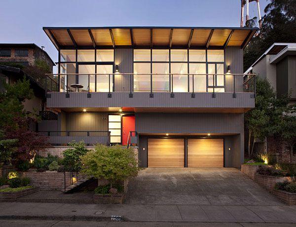 Klopf Architecture Mid Century Modern Addition Remodel. Modern  ExteriorExterior DesignModern House ExteriorsExterior Color SchemesRanch ...