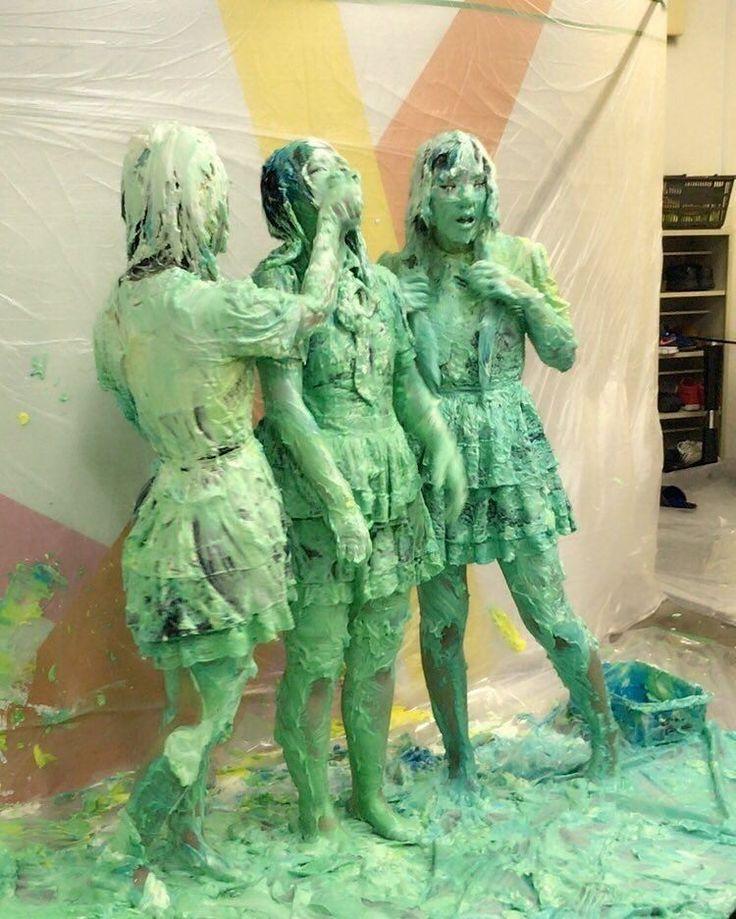 wet and messy girls slimedgirls on instagram gunge