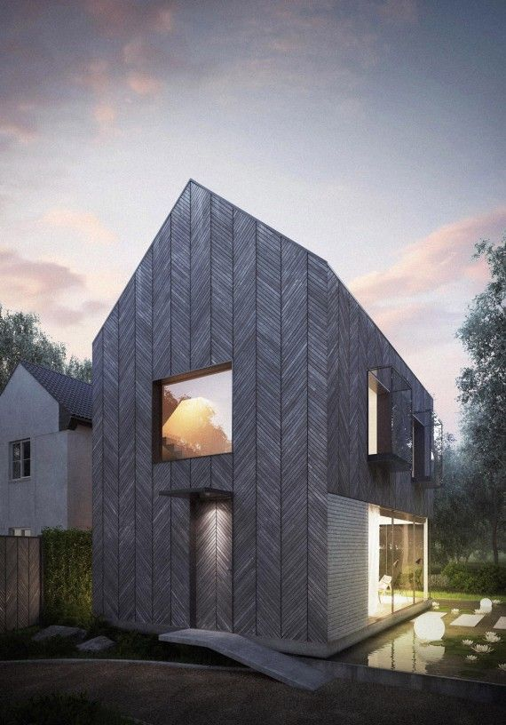 New Build House In The Woods In Essex By Architecture For London House Cost Essex Homes Building A Tiny House