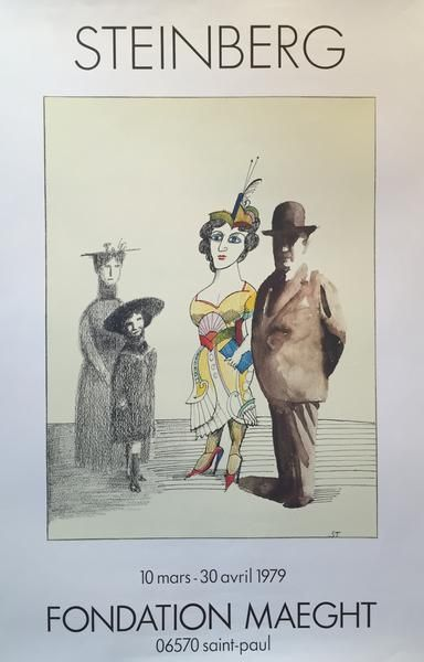 1894 Original French Art Nouveau Gil Blas Poster, Galanterie (Gallantry) - Steinlen