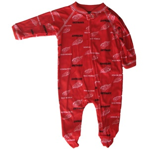 Reebok Detroit Red Wings Newborn Sleeper