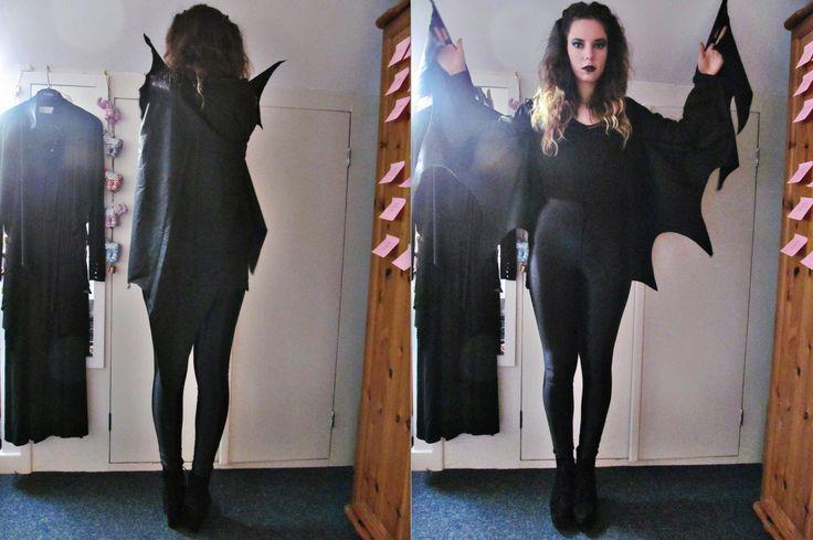 Bat Costume - DIY bat wings