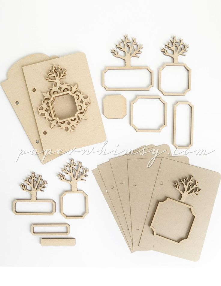 Tree Book Kit - paperwhimsy