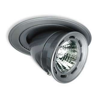 Semi Recessed And Adjustable Directional Downlighter With Ventilated Lamp Housin OnlineLighting $80