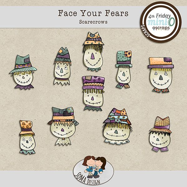 SoMa Design: Face Your Fears - Scarecrows
