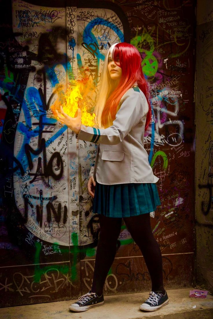 Fem!Todoroki cosplay | Todoroki cosplay, Cosplay, Hero