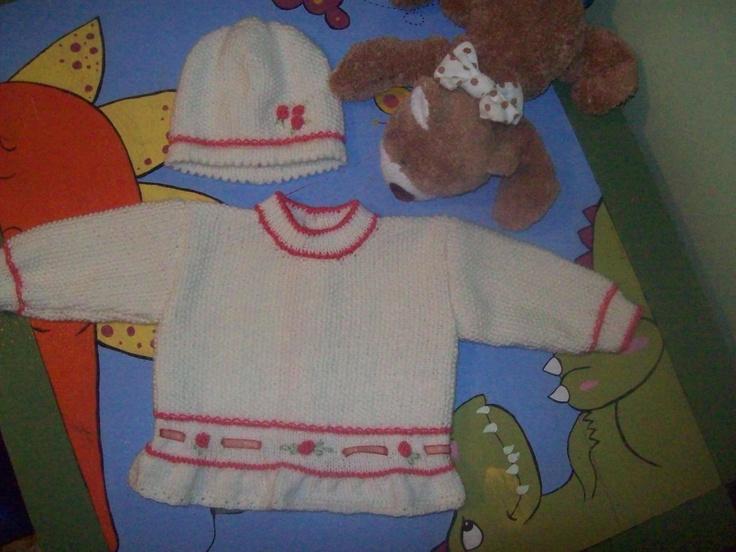 """completo a maglia bambina """"La tartaruga crea"""""""