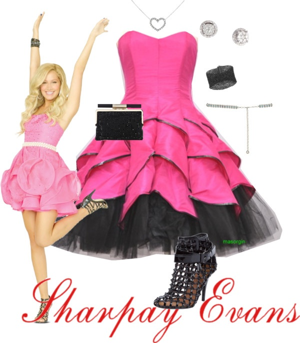 """""""Sharpay Evans"""" by saeabryony ❤ liked on Polyvore"""