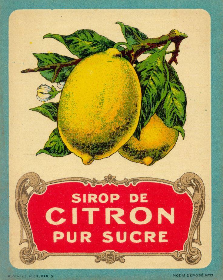 citron pur sucre