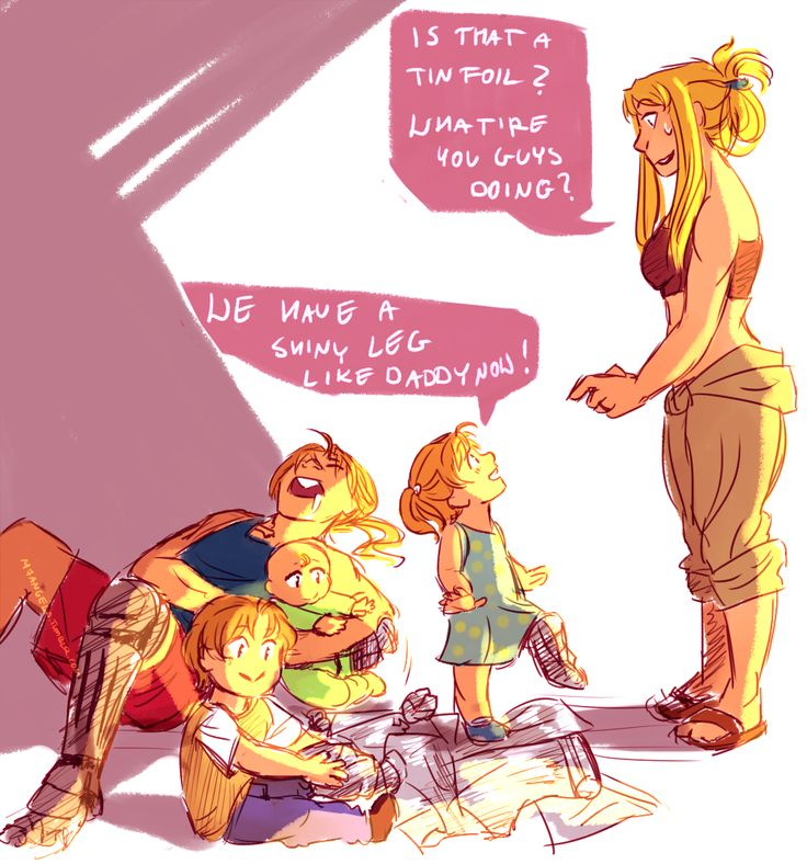 Edward And Winry Kids