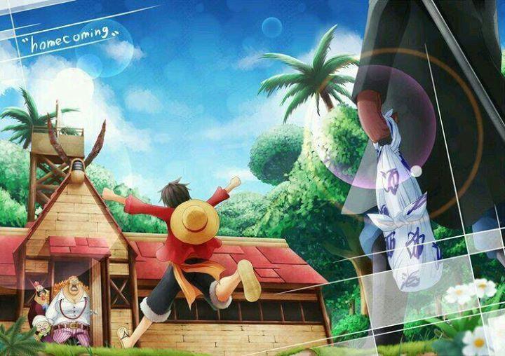 Homecoming 😢 #onepiece #onepiecefan #otaku #mugiwara #luffy