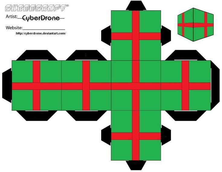 Cubee - Xmas Present 'Ver2' by CyberDrone.deviantart.com on @DeviantArt