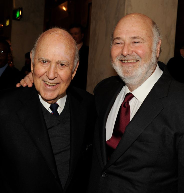 Carl & Rob Reiner: like father, like son!