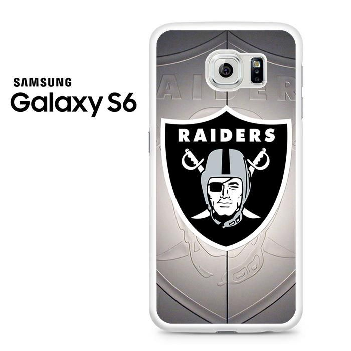 Oakland Raiders Emblem Samsung Galaxy S6 Case