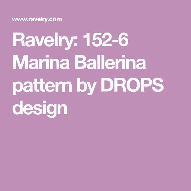 Ravelry: 152-6 Marina Ballerina pattern by DROPS design