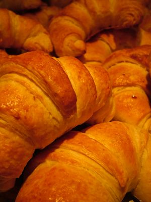 Mi yaya Antonia: Croissants / cruasanes caseros