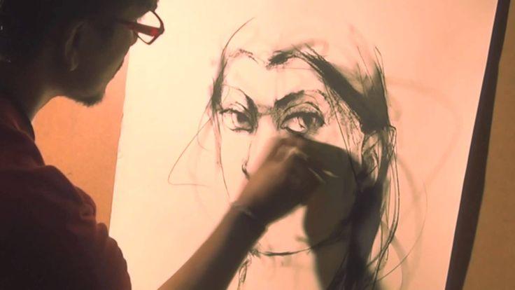 Mithun Dutta - Painting A Beautiful Artwork!  #IndianArtists #IndianArt #IndianPaintings #Artworks
