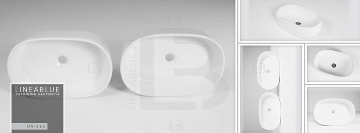 Ceramiczna umywalka nablatowa LINEABLUE UN 116   Umywalki nablatowe   LINEABLUE Ceramika Sanitarna   Wanny wolnostojące, umywalki, misy wc, panele prysznicowe, kabiny, brodziki