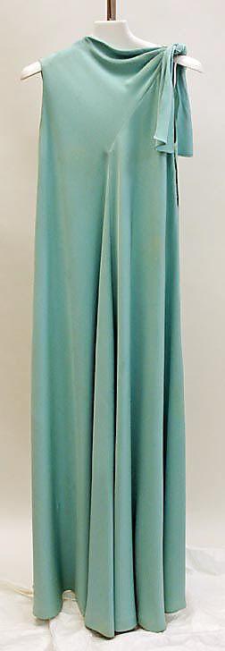 Dress, Evening - Madame Gres c, 1968