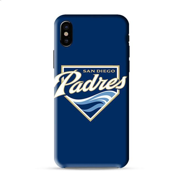 Sandiego Padres Baseball Logo Blue Iphone X 3D Case Caseperson