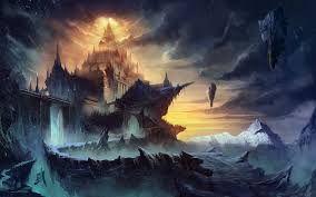Resultado de imagem para paisagem fantasia