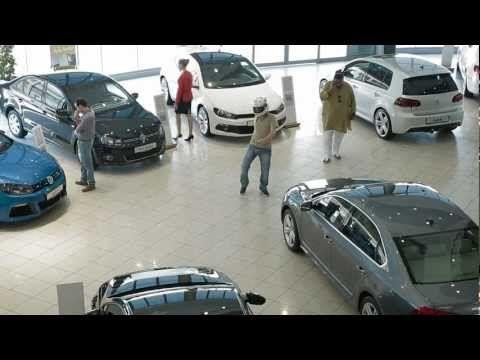 Harlem Shake Volkswagen Dubai