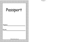 29 best images about teach world travels on pinterest for Make your own passport template