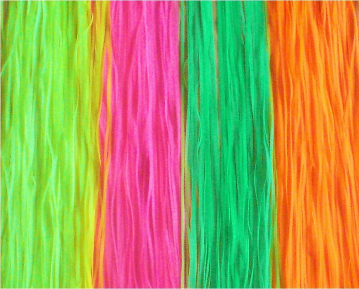 Neon Colored Streamer Material   Sweet Sixteen   Pinterest ...