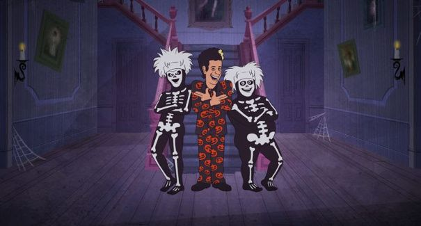 SaturdayNight Live's David S. Pumpkins — the bizarre Tom Hanks character that went viral last year — is returning to NBC for a Halloween-themed animated half-hour special. Set fo…