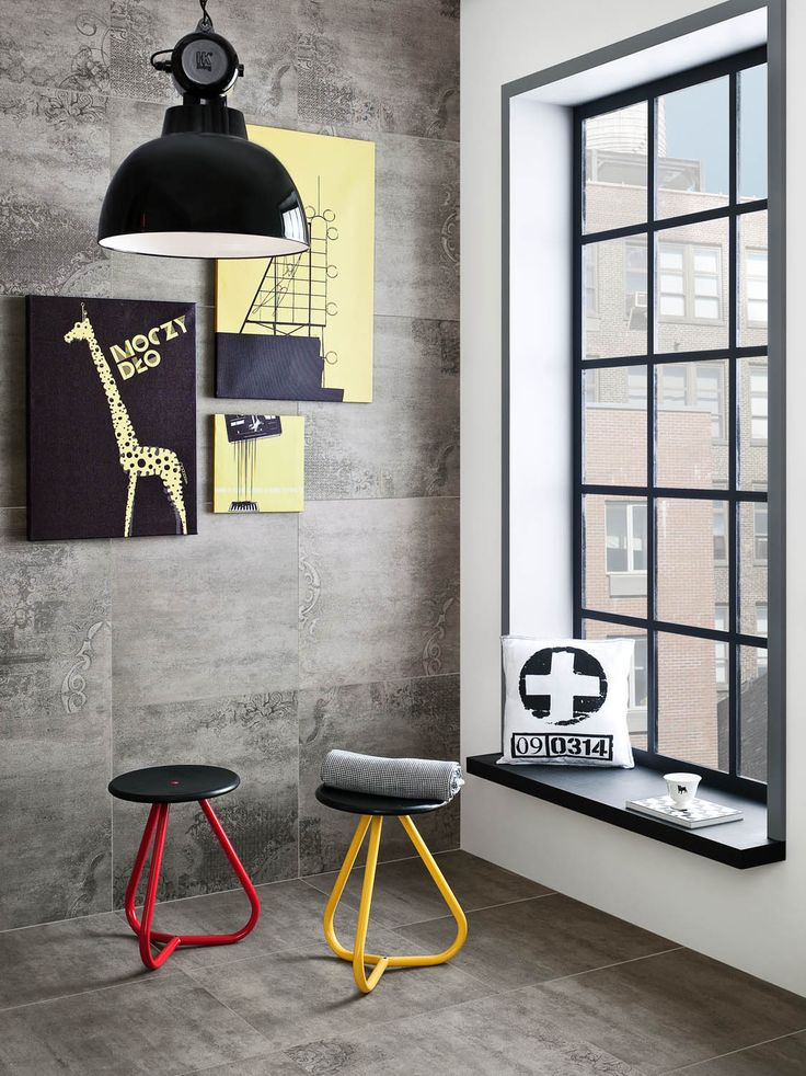 Original mix of modern ceramic tiles inspired by concrete - Loft of CERAMSTIC!  http://ceramstic.com/pl/loft/